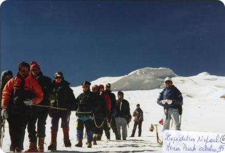 Willy au Mera Peak
